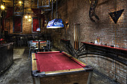 Billiards Prints - Pub Print by Jeremy Woodhouse