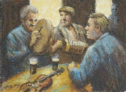 Guiness Posters - Pub Session Poster by Jim McDonald