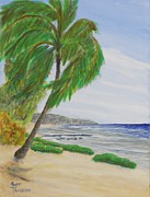 Cayman Islands Prints - Public Beach Cayman Brac Two Print by Monte Lee Thornton