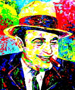 Mafia Paintings - Public Enemy Number One by Mike OBrien
