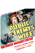 Fbi Prints - Public Enemys Wife, Margaret Lindsay Print by Everett