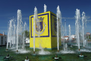 Public Fountain Print by Gaspar Avila