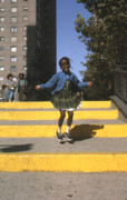 Skipping Rope Prints - Public Housing  Print by Erik Falkensteen