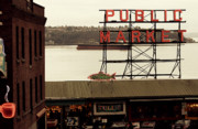 Puget Sound Photos - Public Market by Kerry Kralovic