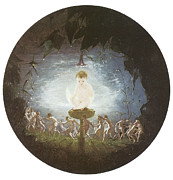 Fairies Posters - Puck Poster by Richard Ddadd