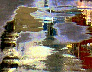 Dale Ford Art - Puddle Art 8 by Dale   Ford