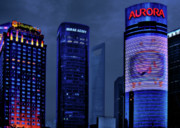 Futuristic Originals - Pudong - Epitome of Shanghais Modernization by Christine Till