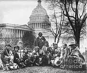 U.s. Capitol Prints - Pueblo Indians Print by Photo Researchers