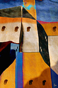 Santa Fe Desert Framed Prints - Pueblo Number 1 Framed Print by Carol Leigh