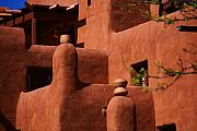 Santa Fe Magic - Pueblo Revival Style architecture II by Susanne Van Hulst
