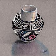 Pueblo Originals - Pueblo Seed Jar by Donald Maier