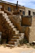 New Mexico Photos - Pueblo Stairway by Joe Kozlowski