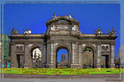 Entryway Art - Puerta de Alcala In Your Dreams by Joan Carroll