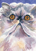 Cats Originals - Puffball of Sweetness by Marsha Elliott