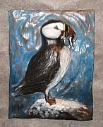 Featured Reliefs - Puffin by Fred Lunger