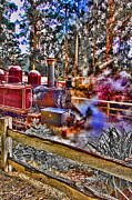 Yarra Valley Prints - Puffing Billy Print by Douglas Barnard