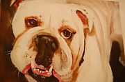 Lynn Beazley Blair - Pugger the bull dog