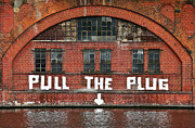 Gebaeude Prints - Pull The Plug Print by Aurica Voss