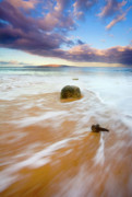 Ebb Photos - Pulled to the Sea by Mike  Dawson