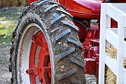 Machinery Photos - Pulling for the Farm by Peter  McIntosh