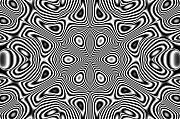 Optical Illusion Art - Pulsar by Michal Boubin