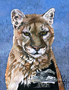 Puma Prints - Puma - The Hunter Print by J W Baker