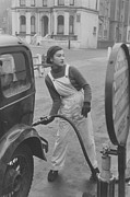 Young Adult Framed Prints - Pump Girl Framed Print by Kurt Hutton