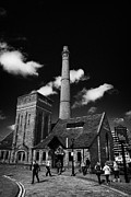 Liverpool Prints - Pumphouse Bar Pub At The Albert Dock Liverpool Merseyside England Uk Print by Joe Fox