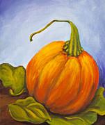 Pumpkin Print by Nicole Okun