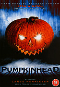 1980s Framed Prints - Pumpkinhead, Uk Poster Art, 1988 Framed Print by Everett