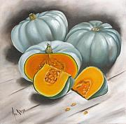 Ilse Kleyn Metal Prints - Pumpkins Metal Print by Ilse Kleyn