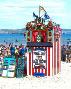 Punch Framed Prints - Punch and Judy Framed Print by Paul Hemmings