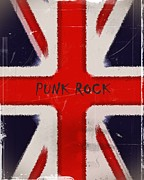 Punk Rock Music Posters - Punk Rock Poster by Sharon Lisa Clarke