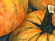 Hallows Paintings - Punkin by Casey Rasmussen White