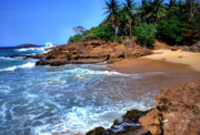 Puerto Rico Photo Posters - Punta Morillos near Arecibo Poster by Thomas R Fletcher