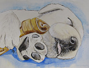 Puppies Originals - Puppy Dreams by Carol Blackhurst