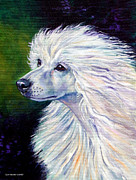Chinese Portrait Framed Prints - Pure Poetry - Chinese Crested Framed Print by Lyn Cook