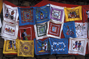 Tarascan Art - PUREPECHA MOLAS Michoacan Mexico by John  Mitchell