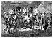 Discrimination Metal Prints - Puritans And Quakers, 1677 Metal Print by Granger