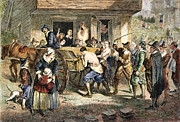 Quaker Photo Prints - PURITANS: PUNISHMENT, 1670s Print by Granger