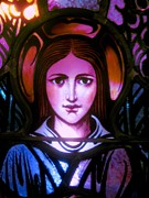 Stain Glass  Work - Purity In Thought by Allen n Lehman
