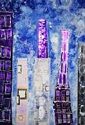 Elisabeth Charbonneau - Purple Buildings