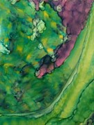 Fantasy Originals - Purple Crevice by Joyce Auteri