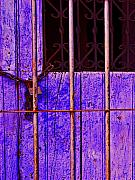 Purple Door By Michael Fitzpatrick Print by Olden Mexico