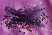 Pixie Copley - Purple Fairy Feather