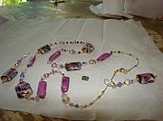 Fantasy Jewelry Originals - Purple Fantasy by Deborah Lynch