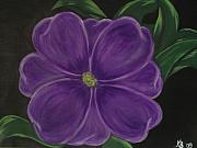 Melanie Blankenship - Purple Flower
