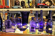 Spirits Photos - Purple Glass Collection by Jan Amiss Photography