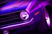 Muscle Car Mopar 1973 Dodge Digital Art - Purple Haze - 1970 Plymouth AAR Cuda by Gordon Dean II