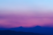 Sunset Greeting Cards Photo Prints - Purple Haze Print by Kevin Bone
